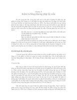 Tài liệu Chương 18: Kiểm tra bằng phương pháp lấy mẫu pdf