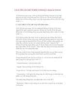 Tài liệu CÁCH TIẾP CẬN MỚI VỀ ĐIỀU CHỈNH QUY HOẠCH TP pdf