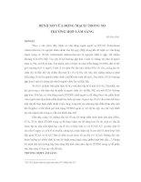 Tài liệu BỆNH XƠ VỮA ĐỘNG MẠCH TRONG SỌ TRƯỜNG HỢP LÂM SÀNG Hồ Hữu Thật1 MỞ docx