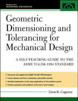 Tài liệu Geometric dimensioning and tolerancing for mechanical design ppt