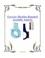 Tài liệu Exercise Machine Repeated Assembly Analysis docx