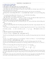 Tài liệu Ôn tập kiến thức vật lý lớp 12 ban cơ bản ( Full) pptx