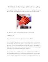 Tài liệu 10 lời khuyên khi thực hiện giao dịch hoặc ký kết hợp đồng docx