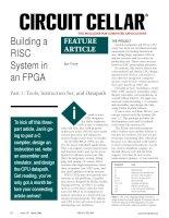 Tài liệu Building a RISC System in an FPGA ppt