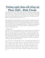 Tài liệu Những ngôi chùa nổi tiếng tại Phan Thiết 1 ppt