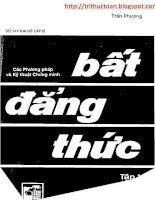 Bat dang thuc tap 1 tranphuong