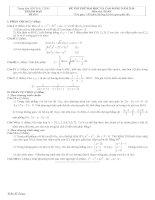 Tài liệu Đề và đáp án luyện thi đại học 2010 khối A-B-C-D đề 6 docx