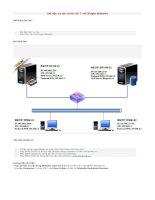 11  cài đặt và cấu hình IIS 7 với single website
