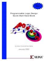 Programmable logic design quick start handbook