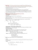 Tài liệu Các phương pháp cân bằng phương trình hóa học docx