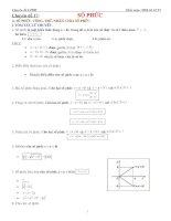 Chuyên đề 17 số phức