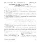 Tài liệu Nghiên cứu Y học: Tổn thương ống ngực sau cắt thực quản pdf