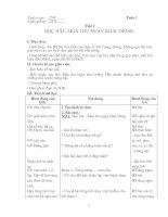 Tài liệu Giáo án âm nhạc lớp 8 pptx