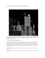 Tài liệu Một số bí quyết để trở thành người đứng đầu pdf