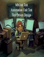 Tài liệu Mb Unit Test, Automation Unit Test, Test Driven Design (file ppt) pptx