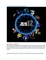 12 chòm sao là pokemon huyền thoại nào