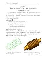 Tài liệu Bài giảng thiết kế kỹ thuật_chương 6 ppt