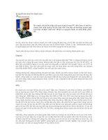Tài liệu Bí quyết lựa chọn bo mạch chủ pptx