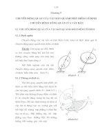 Tài liệu giáo trình cơ học lý thuyết , chương 9 pptx