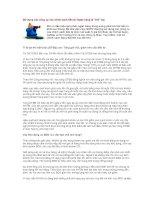 Tài liệu Sử dụng các công cụ của chính sách tiền tệ: Ngân hàng bị