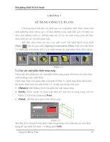Tài liệu Bài giảng thiết kế kỹ thuật - Chương 7: Sử dụng công cụ Plane docx