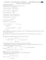 Tài liệu Hệ thống toàn bộ kiến thức vật lý 12 doc
