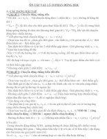 Tài liệu Ôn tập theo chủ đề vật lý 10 và bài tập. doc
