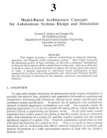 Tài liệu An Introduction to Intelligent and Autonomous Control-Chapter 3:Model-Based Architecture Concepts for Autonomous Systems Design and Simulation docx