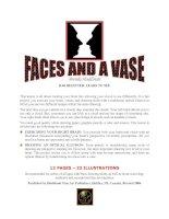 Tài liệu Faces and a Vase - Vẽ khuôn mặt pptx