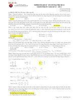 30 Đề thi thử Đại học Môn Vật Lý của các trường chuyên và lời giải chi tiết năm 2013 - phần 2