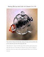 Tài liệu Hướng dẫn tạo ảnh ổ đĩa với Ubuntu Live CD docx