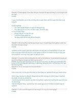 62 câu hỏi và giải đáp thắc mắc về mảng KHDN