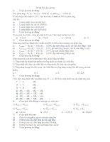 Tài liệu Đề thi Hóa đai cương - phần 1 docx