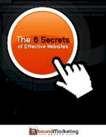 6 secrets of effective websites