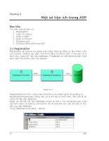 Tài liệu Ngôn ngữ lập trình ASP - Phần 2 - Một số tiện ích ppt