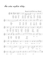 Tài liệu Bài hát ân sâu nghĩa đầy - Nguyên Ly & Đinh Công Huỳnh (lời bài hát có nốt) pptx