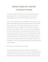 Tài liệu LUYỆN ĐỌC TIẾNG ANH QUA TÁC PHẨM VĂN HỌC-SHORT STORY BY O'HENRY -The Dog And The Playlet ppt