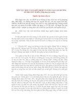 Tài liệu TIẾP TỤC MỘT CÁCH KIÊN ĐỊNH VÀ SÁNG TẠO CON ĐƯỜNG XÃ HỘI CHỦ NGHĨA (Tiếp theo kỳ trước) pptx