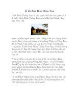 Tài liệu Lễ hội đình Thần Thắng Tam doc