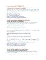 Tài liệu Past tenses pdf