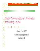 Tài liệu Modulation and coding course- lecture 4 pdf