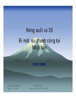 Tài liệu 5S bi mat thanh cong của cong ty nhat ban pptx