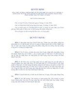 Tài liệu QUYẾT ĐỊNH CỦA THỦ TƯỚNG CHÍNH PHỦ VỀ VIỆC BAN HÀNH DANH MỤC SẢN PHẨM, HÀNG HÓA PHẢI KIỂM TRA VỀ CHẤT LƯỢNG docx