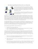 Tài liệu Xây dựng mạng không dây không cần router không dây pdf