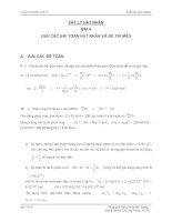 Tài liệu Giải toán vật lý hạt nhân và giải đề thi mẫu ppt