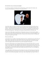 Tài liệu Bí mật thành công của thương hiệu Apple doc