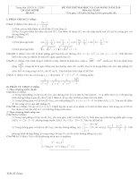 Tài liệu Đề và đáp án luyện thi đại học 2010 khối A-B-C-D đề 8 docx