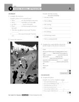 Tài liệu New english file elementary test booklet part 5 pdf