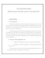 Tài liệu SÁNG KIẾN KINH NGHIỆM - HƯỚNG DẪN HỌC SINH THỰC HÀNH TỪ LOẠI TIẾNG VIỆT ppt
