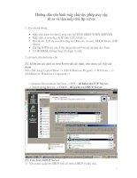 Tài liệu Hướng dẫn cấu hình máy chủ cho phép truy cập từ xa và làm máy chủ ftp Server doc